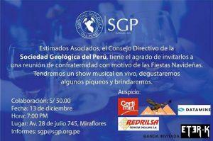 13 DICIEMBRE | Reunión de Confraternidad SGP