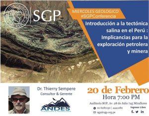20 FEBRERO | Miércoles Geológico