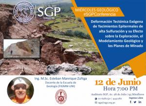 12 JUNIO | Miércoles Geológico