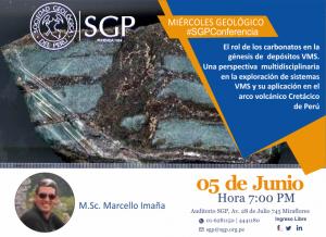 05 JUNIO | Miércoles Geológico