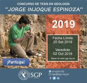 "Concurso de Tesis ""Jorge Injoque Espinoza"" 2019"