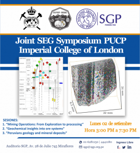 02 setiembre | Joint SEG Symposium PUCP – Imperial College of London