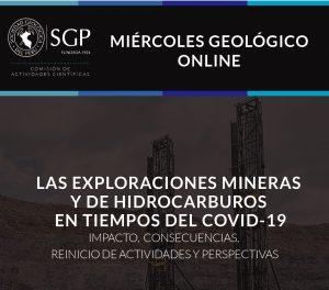 27 MAYO | Las exploraciones mineras y de hidrocarburos en tiempos del Covid-19