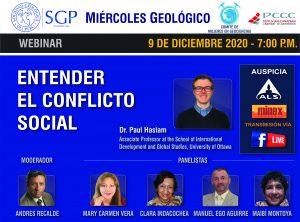 9 DICIEMBRE – 7:00 pm | Entender el Conflicto Social