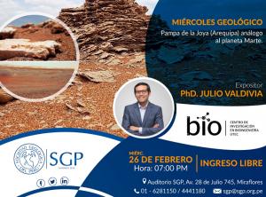 26 FEBRERO | Pampa de la Joya (Arequipa) análogo al planeta Marte
