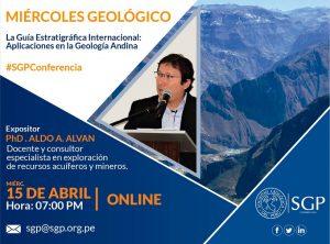 15 ABRIL | La Guía Estratigráfica Internacional: Aplicaciones en la Geología Andina