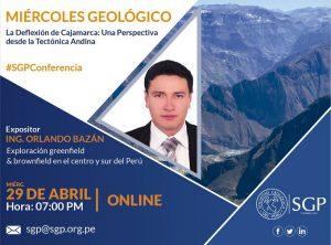 29 ABRIL | La Deflexión de Cajamarca: Una Perspectiva desde la Tectónica Andina