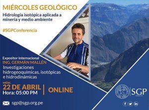 22 ABRIL | Hidrología isotópica aplicada a minería y medio ambiente