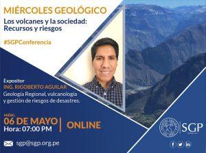 06 MAYO | Los volcanes y la sociedad: recursos y riesgos