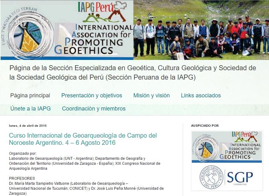 Blog Geoetica