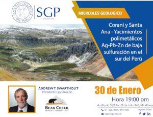 30 ENERO | Miércoles Geológico