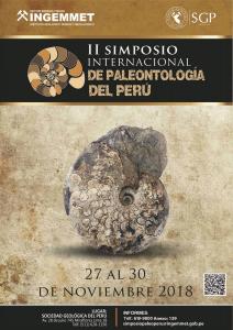 27-30 NOVIEMBRE | II Simposio Internacional de Paleontología del Perú