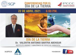 22 ABRIL 2021 – 6:00 pm | DÍA DE LA TIERRA